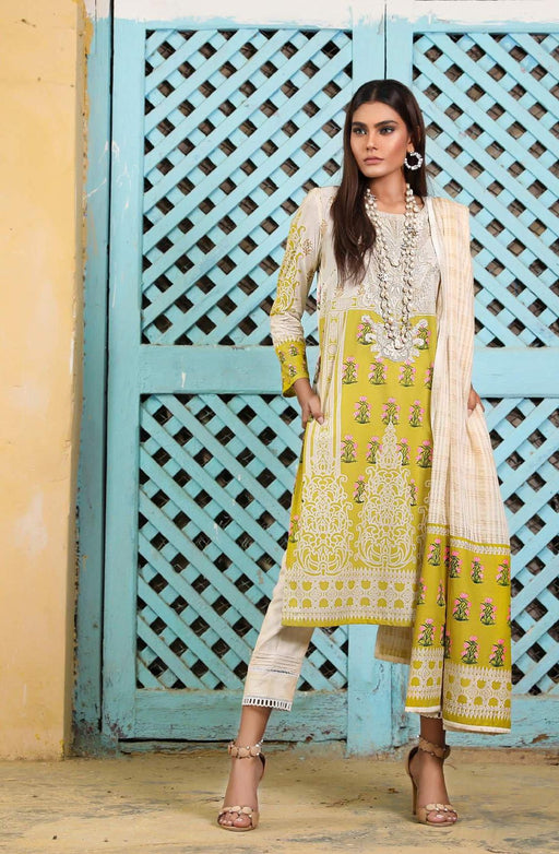 Sana Safinaz Kurnool Lawn Original Pakistani Dresses and Suits 3A1 Wishcart.in
