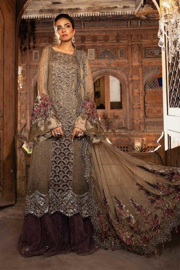 MARIA.B. Mbrodiered Heritage Original Pakistani Dresses and Suits A3 01 wishcart.in