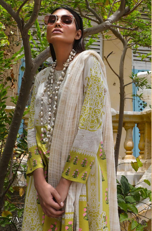 Sana Safinaz Kurnool Lawn Original Pakistani Dresses and Suits 3A2 Wishcart.in