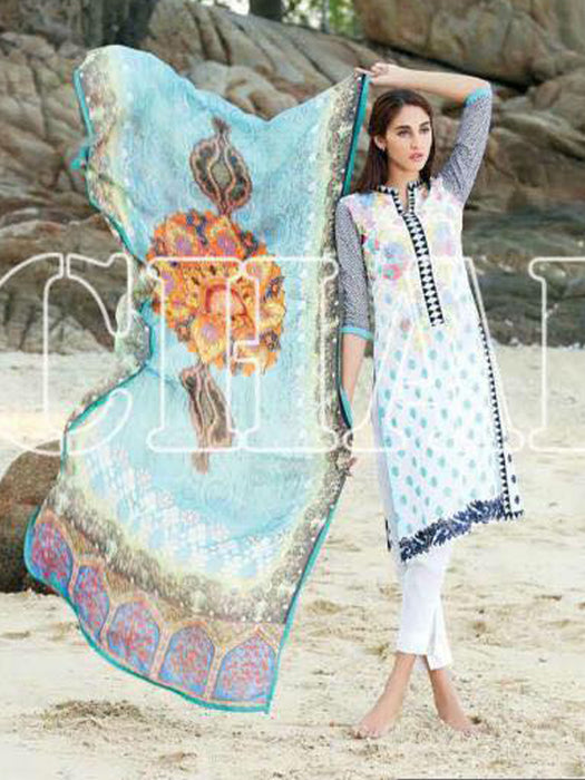 Charizma Summer Swiss Voil Unstitched Suits Collection - wishcart.in
