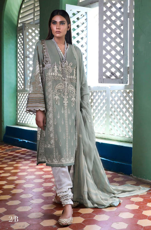Sana Safinaz Kurnool Lawn Original Pakistani Dresses and Suits 4A1 Wishcart.in