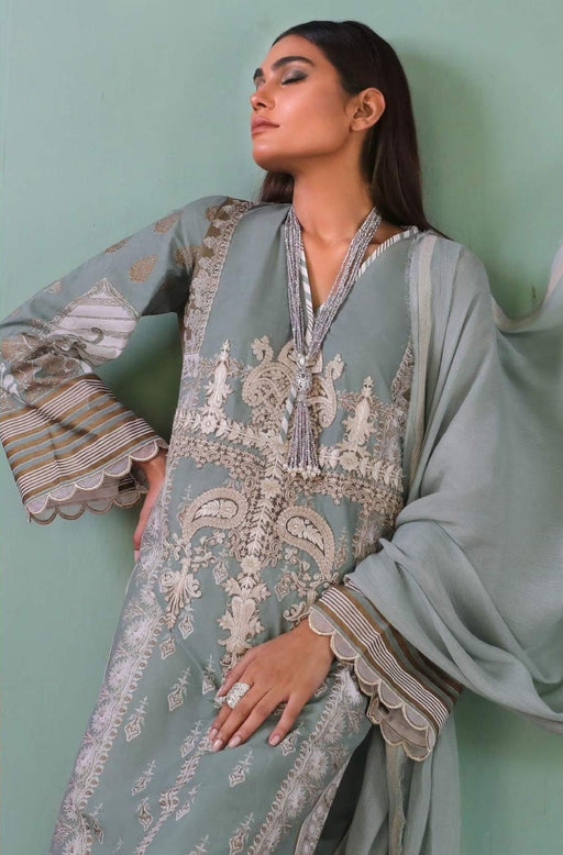 Sana Safinaz Kurnool Lawn Original Pakistani Dresses and Suits 4A2 Wishcart.in