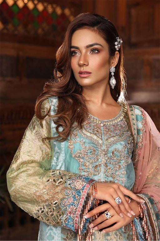 MARIA.B. Mbrodiered Heritage Original Pakistani Dresses and Suits A4 02 Wishcart.in