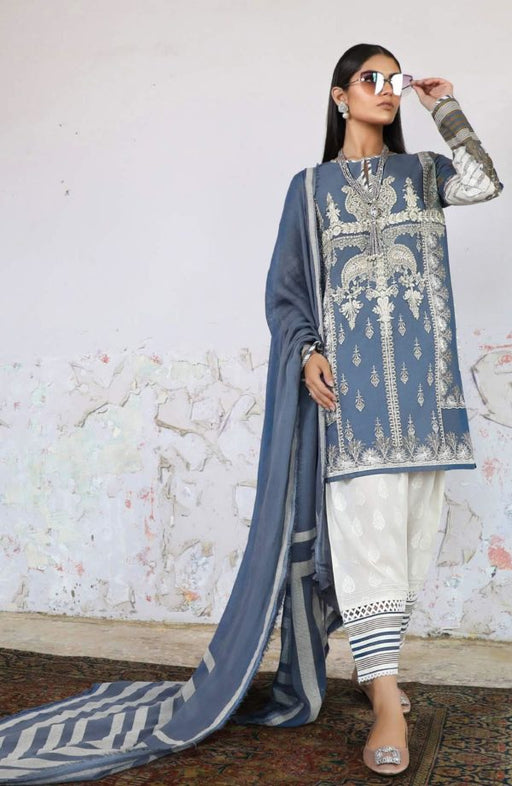 Sana Safinaz Kurnool Lawn Original Pakistani Dresses and Suits 5A1 Wishcart.in