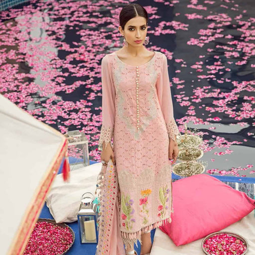 Charizma Festive Eid Original Pakistani Pakistani Dresses & Suits Floral Fiesta - wishcart.in