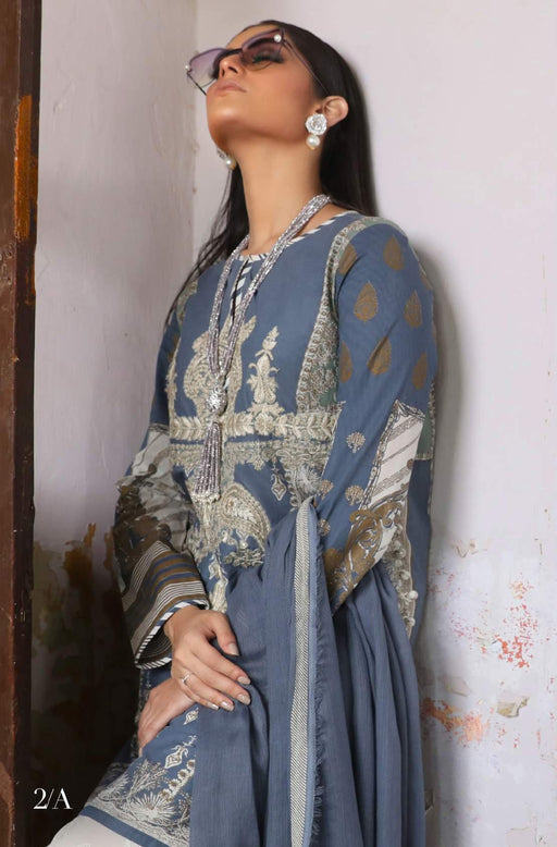 Sana Safinaz Kurnool Lawn Original Pakistani Dresses and Suits 5A2 Wishcart.in