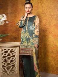 Saffire Premium Lawn Silk Collection by Sibayash@wishcart.in