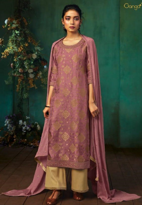 wishcart - Ganga Annika Silk Jacquard Collection 7948