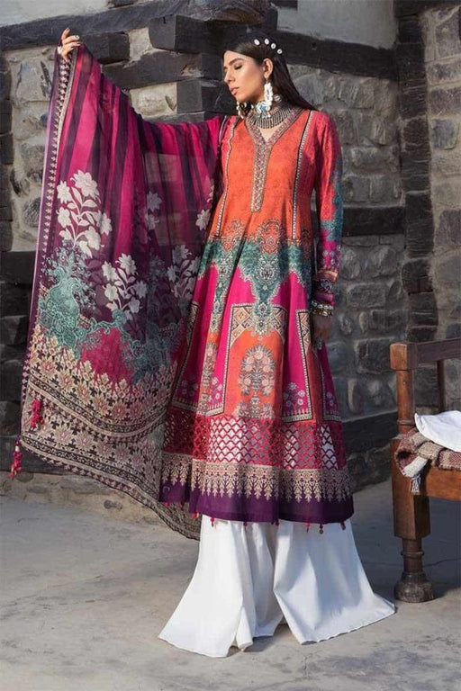 MARIA.B. Mprints Katpana Original Pakistani Dresses & Suits 6A Wishcart.in