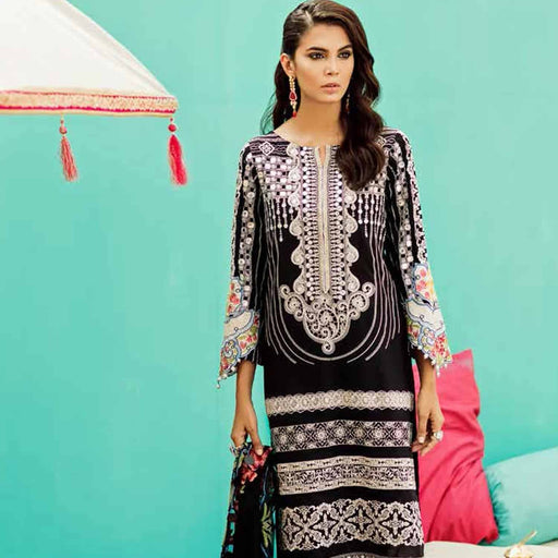 Charizma Festive Eid Original Pakistani Pakistani Dresses & Suits Dark Night - wishcart.in