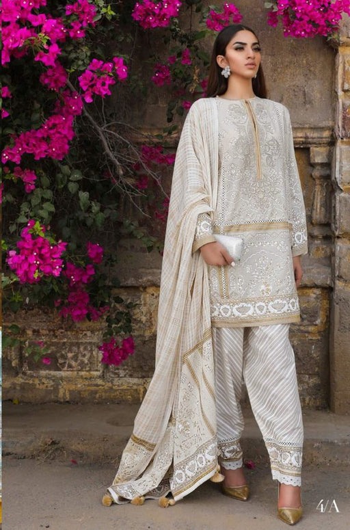Sana Safinaz Kurnool Lawn Original Pakistani Dresses and Suits 6A Wishcart.in