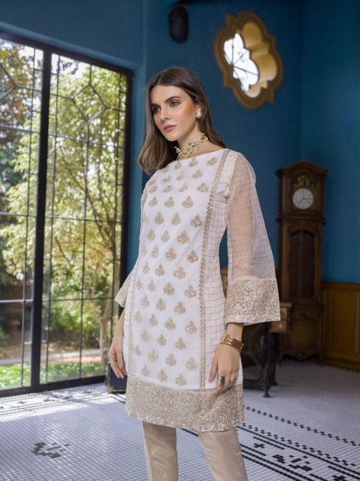 Wishcart-PakistaniKurtis-Azure Luxury Embroidered Exclusive Kurits Vol 5  Crystal Diva D06