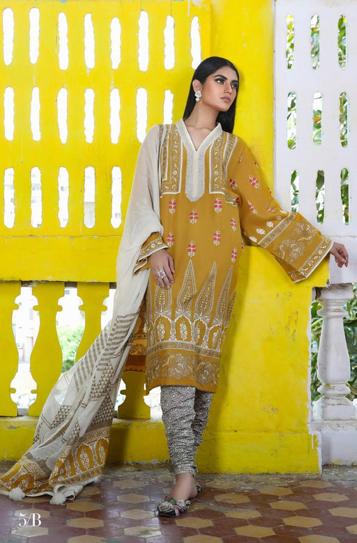 Sana Safinaz Kurnool Lawn Original Pakistani Dresses and Suits 7A Wishcart.in