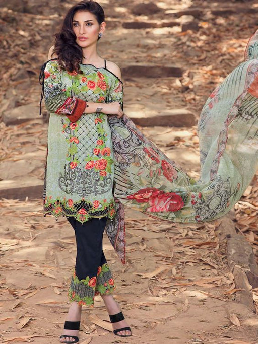 Emaan Adeel Embroidered Lawn Collection - wishcart.in