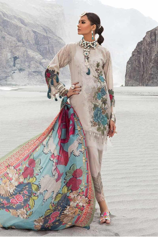 MARIA.B. Mprints Katpana Original Pakistani Dresses & Suits 8A Wishcart.in