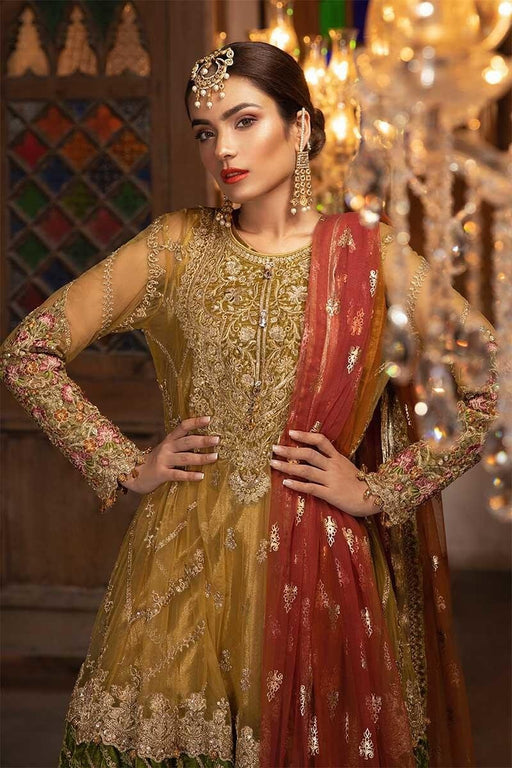 MARIA.B. Mbrodiered Heritage Original Pakistani Dresses and Suits A8 02 Wishcart.in