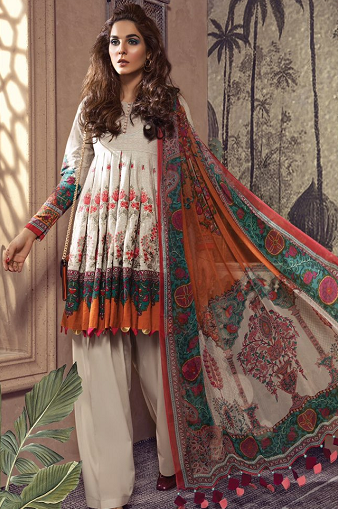 wishcart-Pakistanisuits-MARIAB Mprints Fall Winter 2019 MPT-708-A