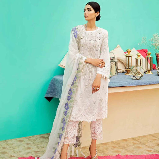 Charizma Festive Eid Original Pakistani Pakistani Dresses & Suits Moon Light - wishcart.in
