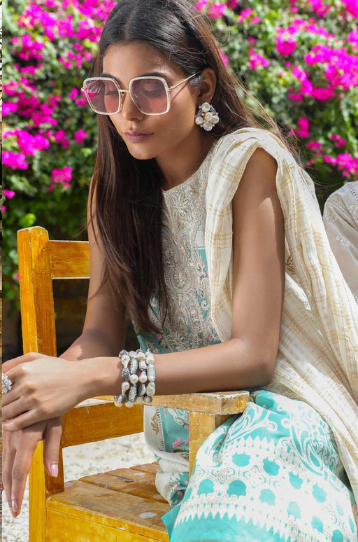 Sana Safinaz Kurnool Lawn Original Pakistani Dresses and Suits 9A2 Wishcart.in