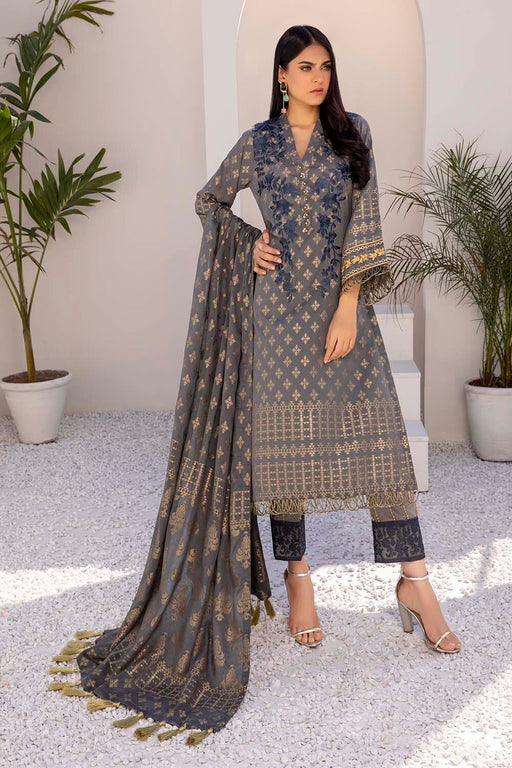 Azure Luxury Jacquard 2021 – Ethereal Grey
