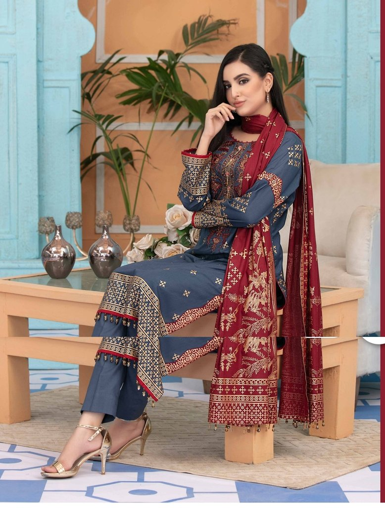 Amna Sohail By Tawakkal Lawn 2020 Collection