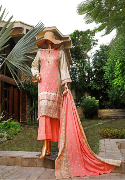 Wishcart-Pakistanisuits-Diamond Embroidered Collection Del 14 Pink