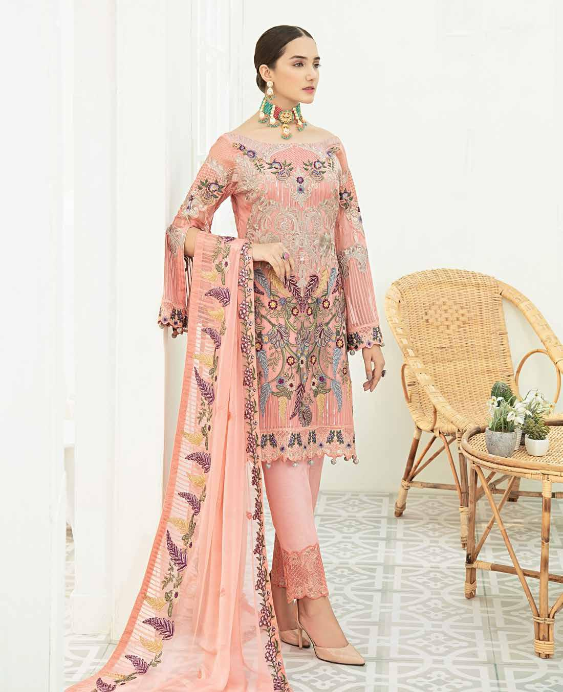 Ramsha Chiffon Vol-19 2020 Collection