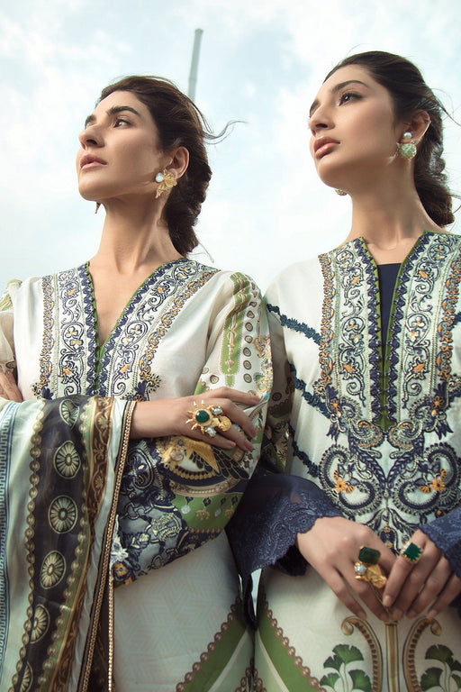 Firdous Grandeur Luxury Lawn Collection 2020 LL 19521