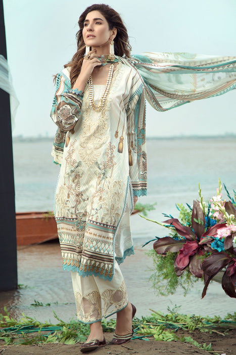 Firdous Grandeur Luxury Lawn Collection 2020  LL-19522