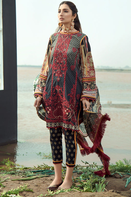 Firdous Grandeur Luxury Lawn Collection 2020 LL 19523