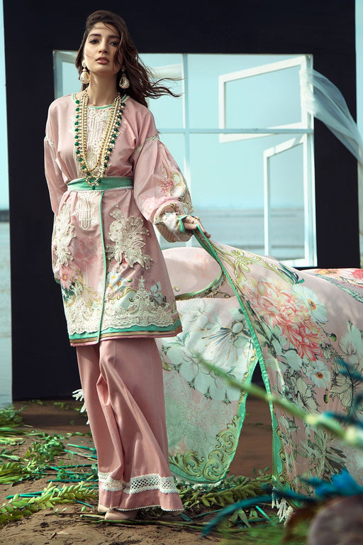 Firdous Grandeur Luxury Lawn Collection 2020 LL 19529
