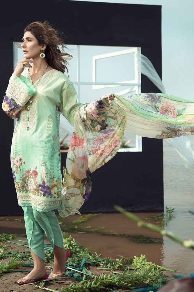 Firdous Grandeur Luxury Lawn Collection 2020 LL 19531