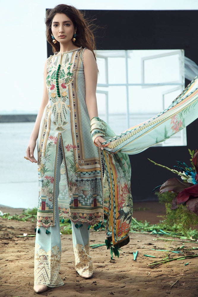 Firdous Grandeur Luxury Lawn Collection 2020 LL 19532