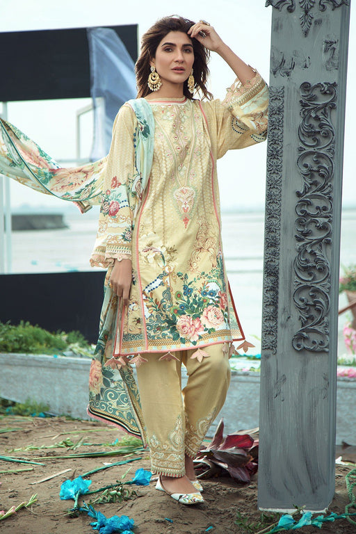Firdous Grandeur Luxury Lawn Collection 2020 LL 19536