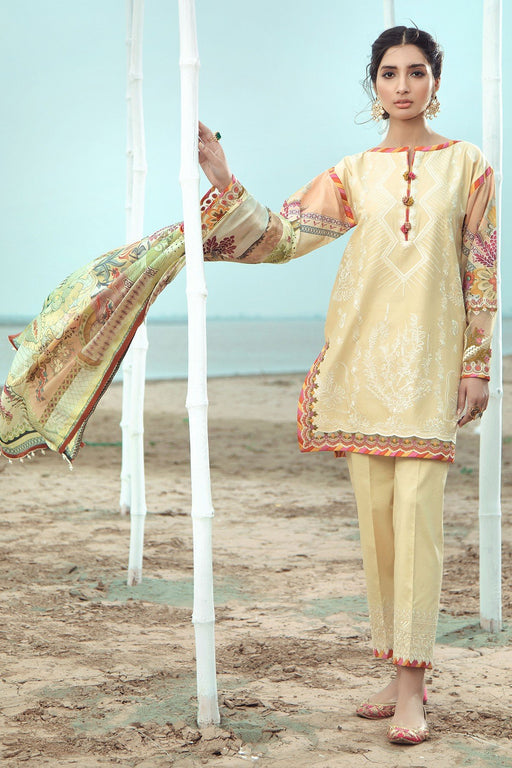 Firdous Grandeur Luxury Lawn Collection 2020 LL 19539