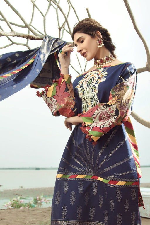 Firdous Grandeur Luxury Lawn Collection 2020 LL 19542