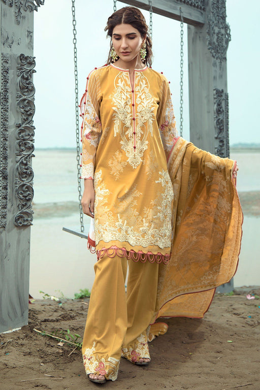 Firdous Grandeur Luxury Lawn Collection 2020 LL 19544