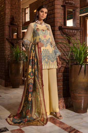 wishcart - Khas Luxury Chiffon 2019 KNAC1086
