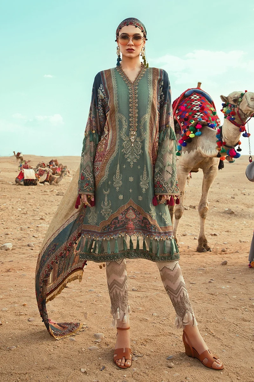 Wishcart-Pakistanisuit-Maria B Lawn Spring/Summer 10A - 2020 Collection-2