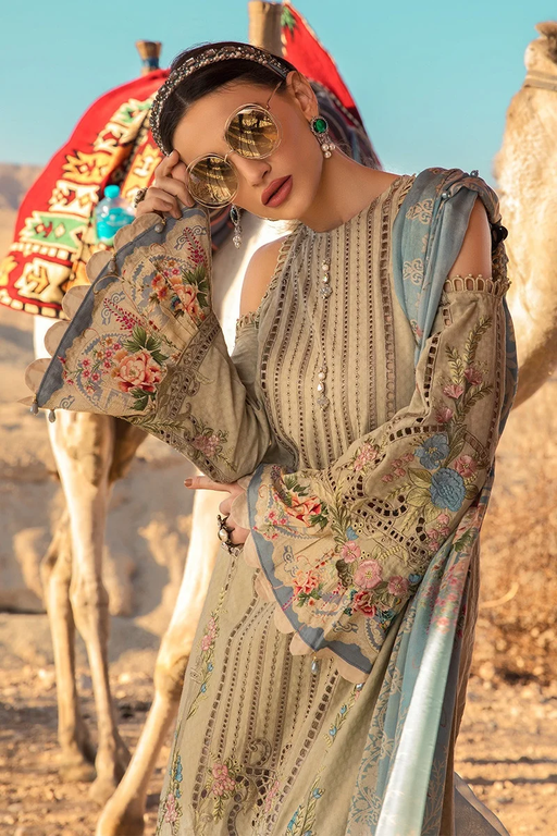 Wishcart-Pakistanisuit-Maria B Lawn Spring/Summer 13B - 2020 Collection-2
