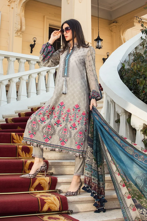 Wishcart-Pakistanisuit-Maria B Lawn Spring/Summer 7B - 2020 Collection-2