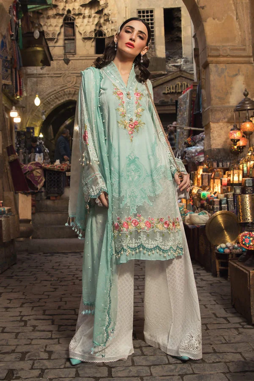 Wishcart-Pakistanisuit-Maria B Lawn Spring/Summer 8A - 2020 Collection-1