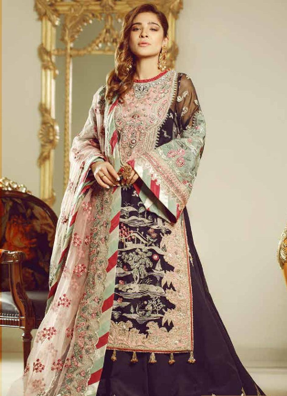 Maryam Hussain Embroidered Wedding Dresses 2019