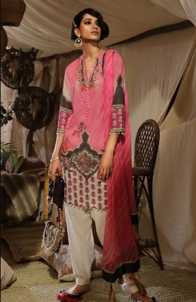 Mahay '19 Original Pakistani Dresses & Suits Collection by Sana Safinaz 12 Wishcart.in