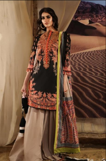 Mahay '19 Original Pakistani Dresses & Suits Collection by Sana Safinaz Wishcart.in