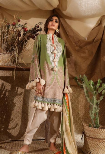 Mahay '19 Original Pakistani Dresses & Suits Collection by Sana Safinaz 14 Wishcart.in