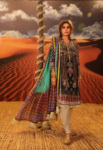 Mahay '19 Original Pakistani Dresses & Suits Collection by Sana Safinaz 29 Wishcart.in