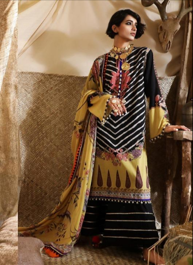 Mahay '19 Original Pakistani Dresses & Suits Collection by Sana Safinaz