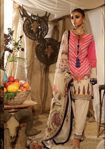 Mahay '19 Original Pakistani Dresses & Suits Collection by Sana Safinaz 3 Wishcart.in