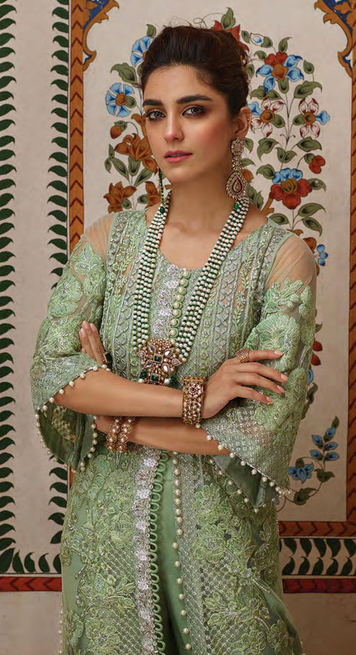 Wishcart-pakistanisuits-Saira shakira Crimson Nawab Dresses 2019--D4-A Applique- Sea Green-01